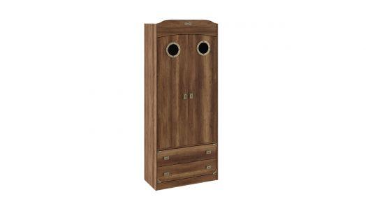 Шкаф комбинированный для одежды с иллюминатором Навигатор (ШxГxВ): 902x434x2161
