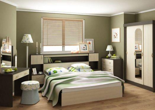 Спальный гарнитур Спальня Бася-2 (трельяж)