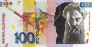 Словения 100 толарев толаров 2003 года ПРЕСС UNC