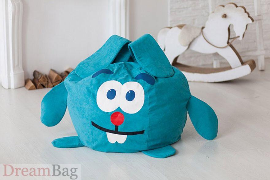 Детский пуфик мешок Заяц Дрим Бег