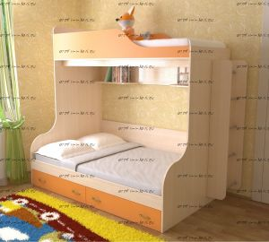 Кровать двухъярусная Дуэт-15