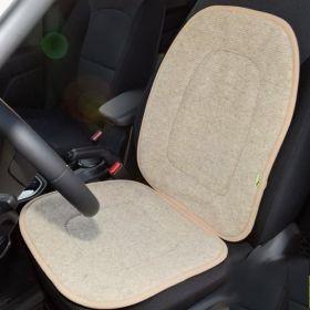 Накидка на сиденье автомобиля из овечьей шерсти Сахара