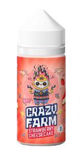 """Е-жидкость """"Crazy Farm"""" Strawberry cheesecake, 100 мл."""