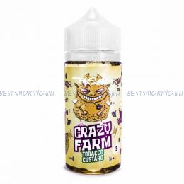 "Е-жидкость ""Crazy Farm"" Tobacco custard, 100 мл."