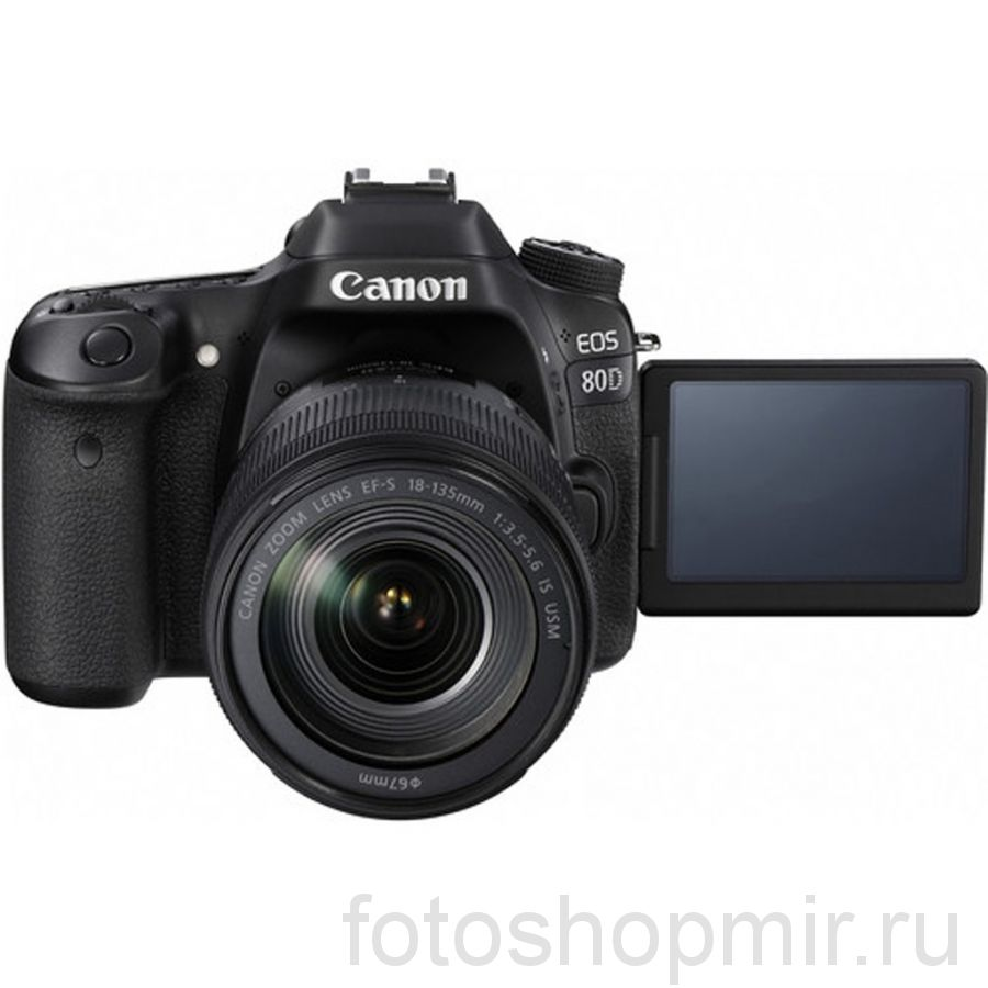 CANON EOS 80D KIT18-135mm  IS USM