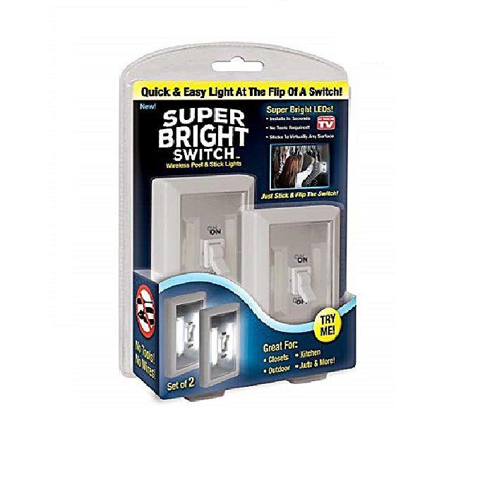 Беспроводной Светильник Super Bright Switch, 2 Шт