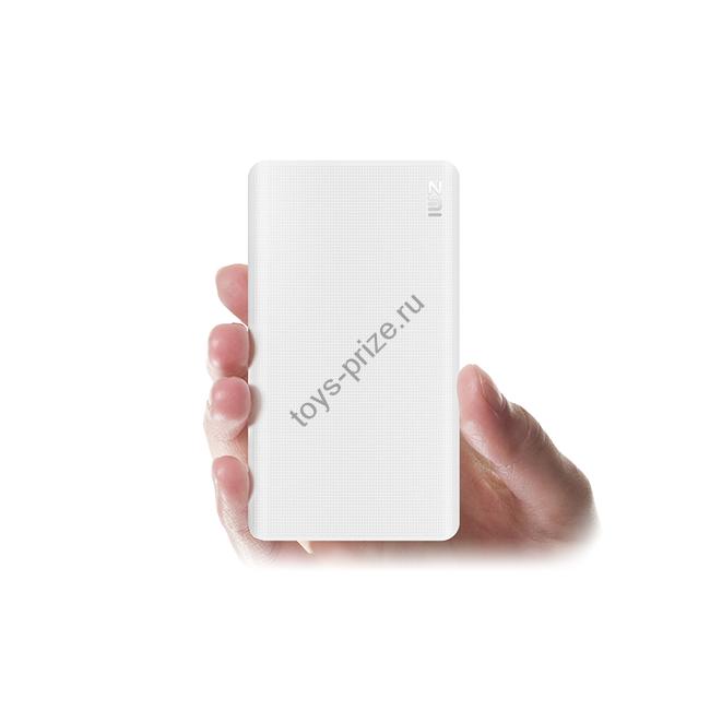 Внешний аккумулятор Xiaomi Mi ZMI Power Bank 5000 mAh (White)