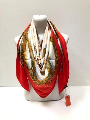 Легкие и весенние платки из натурального шёлка 140х140см LV022