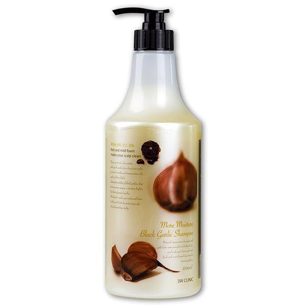 [3W CLINIC] ЧЕРНЫЙ ЧЕСНОК Маска для волос More  Moisture Black Garlic Hair Pack, 1000 мл