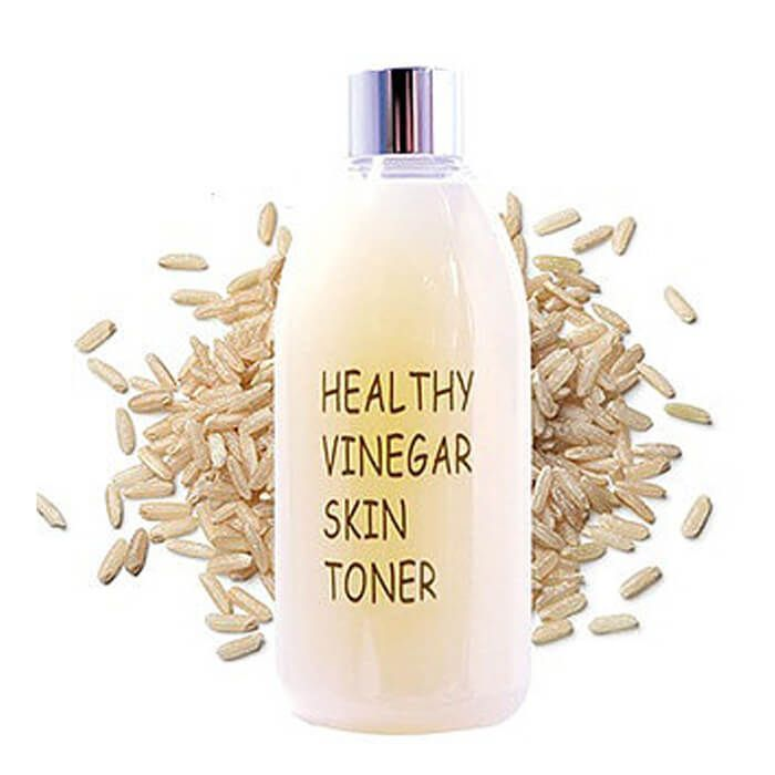Тонер для лица РИС REALSKIN Healthy vinegar skin toner (Rice), 300 мл