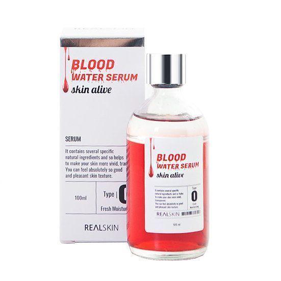 [REALSKIN] Сыворотка для лица Blood Water Serum, 100мл (стекло)