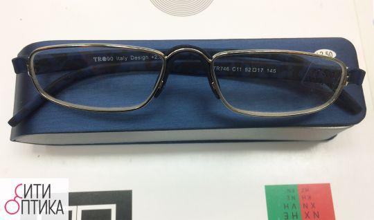 Лекторские очки в футляре Italy design TR 90 746