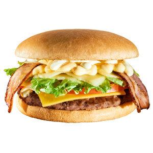 Сырный Гранд Бургер с беконом