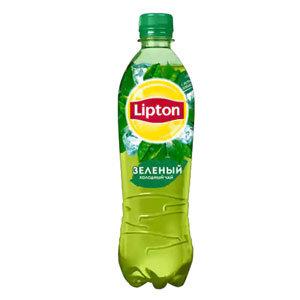 Холодный чай Липтон в бутылке 0.5л