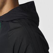 Парадная куртка adidas Tiro 17 Presentation Jacket чёрно-зелёная