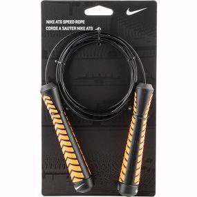 Скакалка Nike ATG Speed Rope чёрно-оранжевая