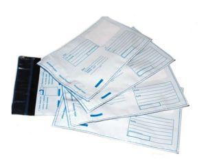 `Пластиковый пакет с логотипом Почта России (600 х 675 мм)