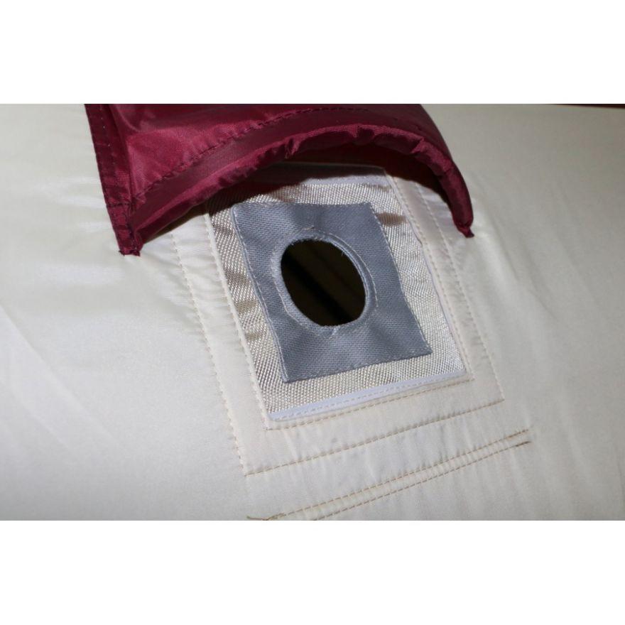 Накладка на окно под газоотводную трубу