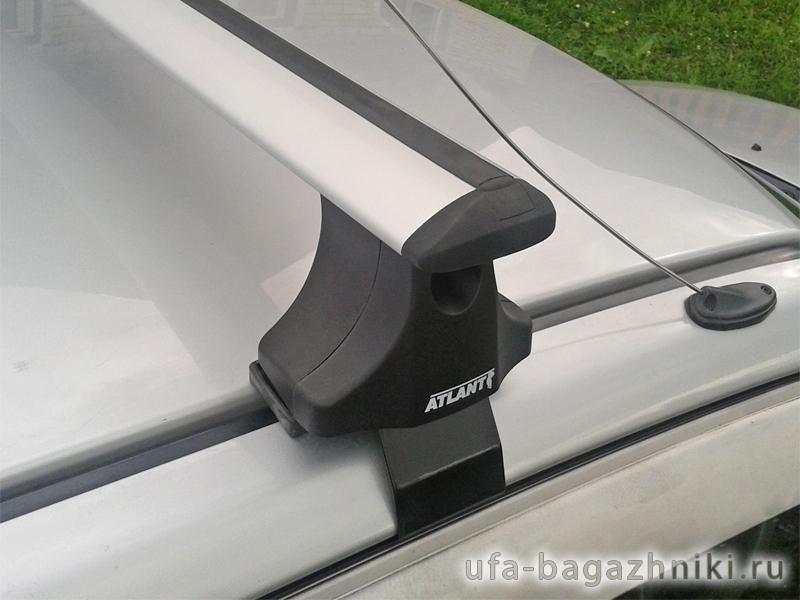 Багажник на крышу Honda Accord 8 2008-13, Атлант, крыловидные дуги