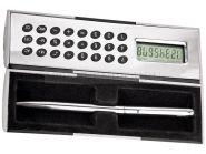 Магический калькулятор «Октант» с ручкой, серебристый (арт. 257000)