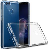 Прозрачный Силиконовый Чехол для смартфонов Huawei/Honor