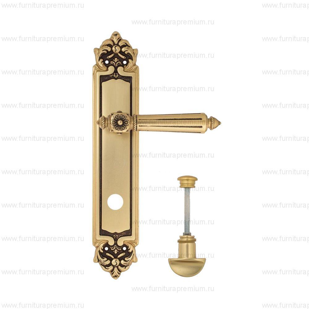 Ручка на планке Venezia Castello PL96 WC-2