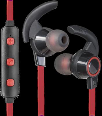 Беспроводная гарнитура OutFit B725 черный+красный, Bluetooth
