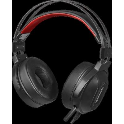Акция!!! Игровая гарнитура Ladon звук 7.1, ANC, кабель 1.8 м