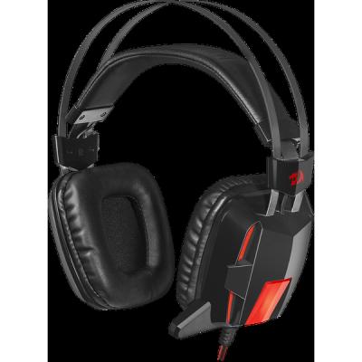 Акция!!! Игровая гарнитура Lagopasmutus 2 красный + черный, кабель 2 м