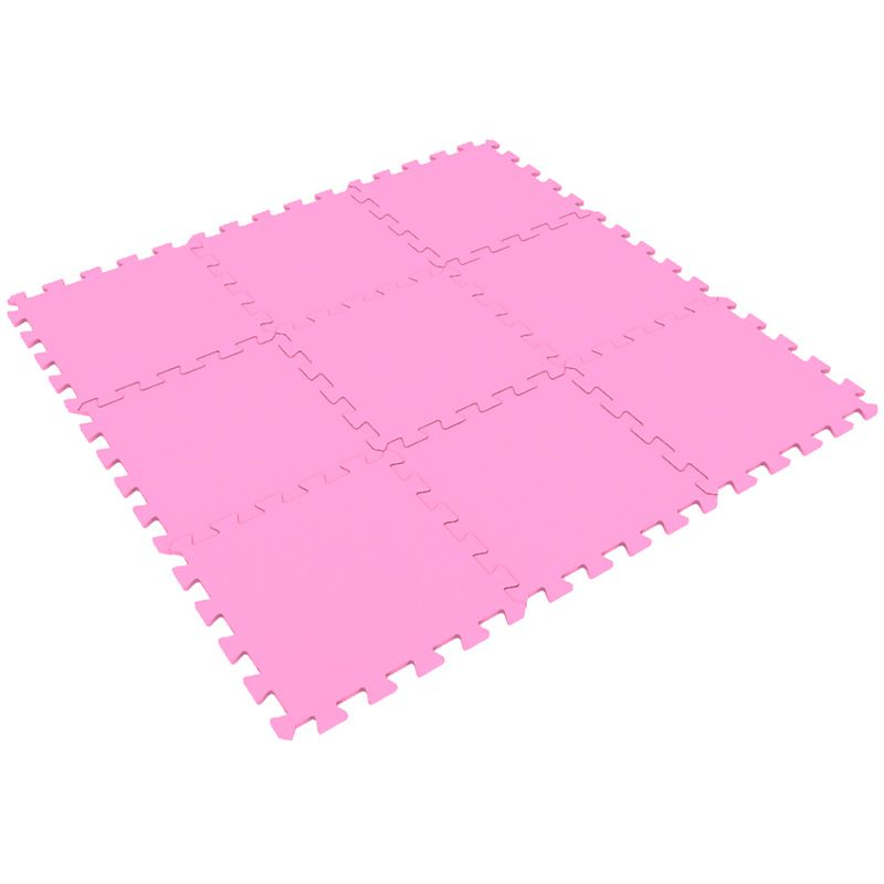 Мягкий пол пазл 33 x 33 см Розовый