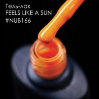 Гель-лак NUB 166 FEELS LIKE A SUN, 8 мл
