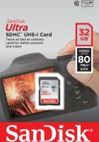 SanDisk 32GB Ultra SDXC Class 10 UHS-I 80MB/s