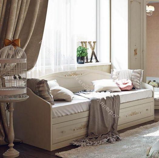 Кровать с 2-мя ящиками «Лючия»