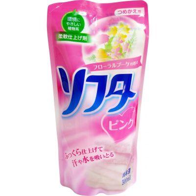 """Кондиционер для белья с растительными компонентами """"Softa – аромат розовых цветов"""", 500мл"""