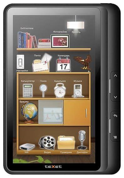Электронная книга teXet 707A-TB 4Gb