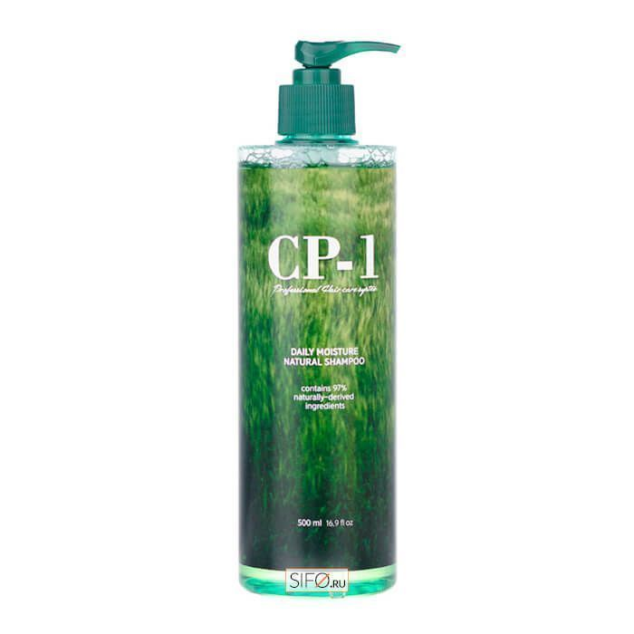 Натуральный увлажняющий шампунь для волос CP-1 ESTHETIC HOUSE Daily Moisture Natural Shampoo, 500 мл