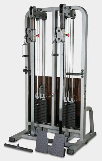 Сдвоенная блочная стойка Body Solid ProClub SDC-2000G
