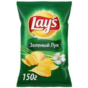 """Чипсы Lays """"Зеленый лук"""" 150г"""
