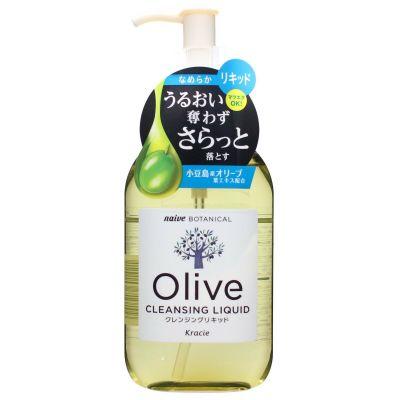 Kracie Naive Botanical Olive Лосьон для удаления макияжа с экстрактом листьев оливы 230 мл
