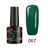 Гель-лак №67 Ou Nail, 8 мл