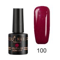 Гель-лак №100 Ou Nail, 8 мл