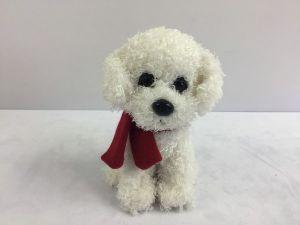 Собака с шарфиком, 16см