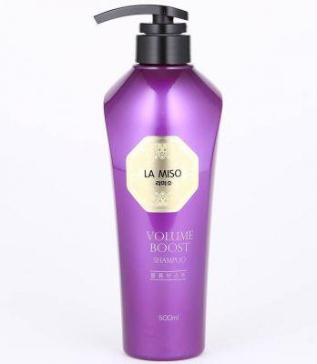 Шампунь c экстрактом икры осетровых для максимального объема волос, La Miso 500 мл