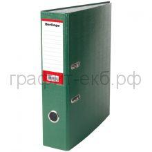 Файл А4 7см Berlingo зеленый/карман АМ4516