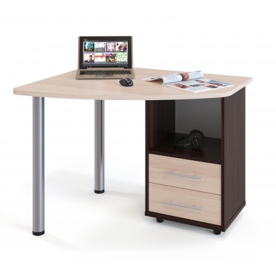Письменный угловой стол для ноутбука КСТ-102 СОКОЛ
