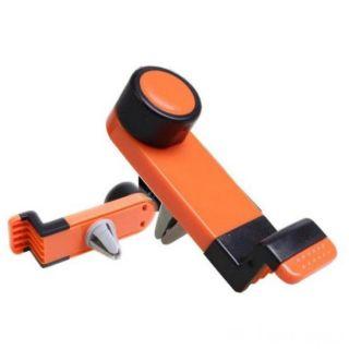 Держатель телефона в авто на воздуховод, Цвет: Оранжевый