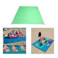 Пляжный коврик Антипесок 200х150см цвет зеленый (1)