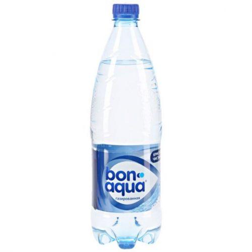 Bonaqua qazlı su 1 lt