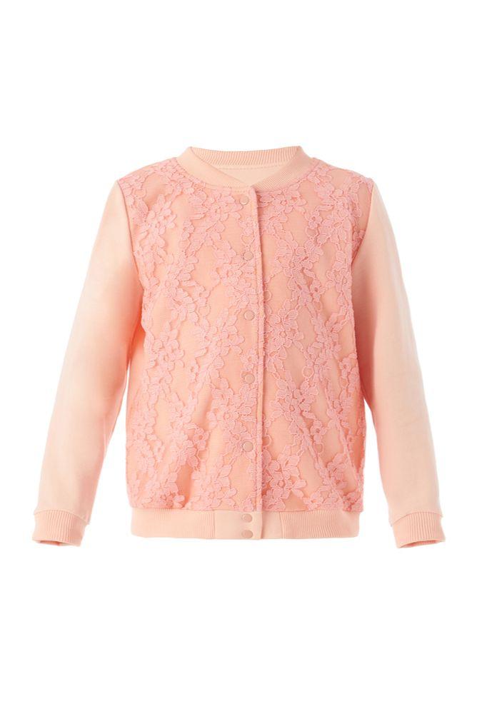 Куртка для девочки Гипюр