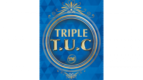 Triple TUC Quarter (D0182) Gimmicks and Online Instructions by Tango